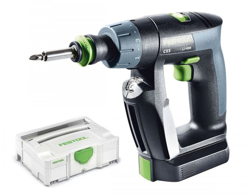 festool akku bohrschrauber cxs li 2 6 plus 564531 186 99. Black Bedroom Furniture Sets. Home Design Ideas