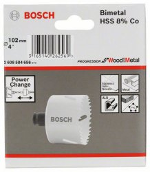 Bosch Lochsäge Progressor for Wood and Metal PC 102mm (2608584656)