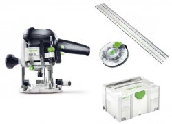 Festool Oberfräse OF 1010 EBQ-Set + Box-OF-S 8/10x HW 574384