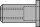 Gesipa Blindnietmutter Stahl Minipack Polygrip M6 x 9 x 18,0 mm 1464839