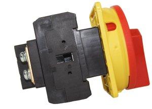 Hauptschalter 63A Fronteinbau Lasttrennschalter Not-Aus-Schalter MX-363Y
