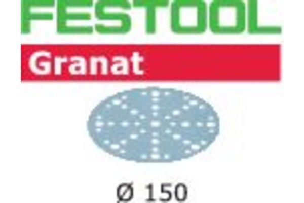 Festool Schleifscheiben STF D150/48 P400 GR/100 Granat