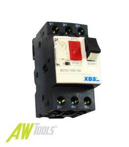 XBS Motorschutzschalter 9 bis 14A einstellbar
