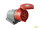 Wandsteckdose Steckdose Wanddose CEE 32A 400V 5-polig 6h IP44 Aufputz