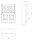 Baustromverteiler / Wandverteiler 6 x 230V/16A & HAGER LS verdrahtet