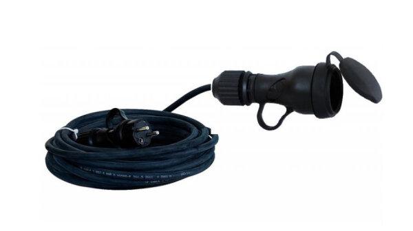 Verlängerungskabel 230V 5m H07RN-F 3 x1,5mm² Schuko Stromkabel Verlängerung Gummi Kabel