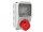 Baustromverteiler Wandverteiler 1 x CEE16A/400V IP44 verdrahtet ohne Sicherung