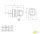 UPS Schuko Schutzkontakt Gummi Winkelstecker IP44 16A 250V gelb mit Griff