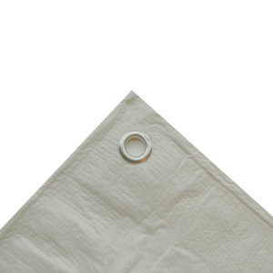 Abdeckplane Weiß 90g 4 x 6m
