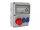 Baustromverteiler Wandverteiler CEE16A/400V + 2 x 230V/16A Schuko IP44 verdrahtet