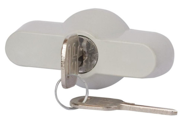 Metall-Schloß mit 2 Schlüssel für Wandverteiler IP65