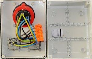 Baustromverteiler Stromverteiler  CEE32A/400V + 2 x...