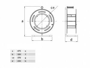 Sicherheits-Kabeltrommel CEE32A/400V + 2 x16A/230V Schuko...