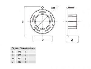 Sicherheits-Kabeltrommel CEE16A/400V + 2 x16A/230V Schuko...