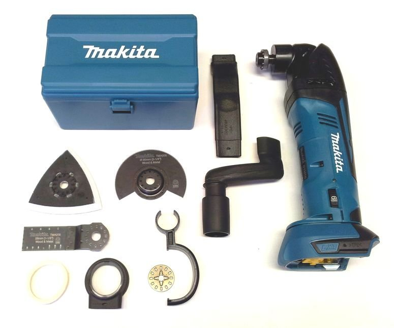 makita 18v akku multi tool dtm50zx1 zubeh r multifunktionswerk. Black Bedroom Furniture Sets. Home Design Ideas