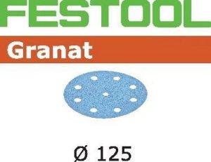 Festool Schleifscheiben STF D125/8 P180 GR/100 Granat 497171