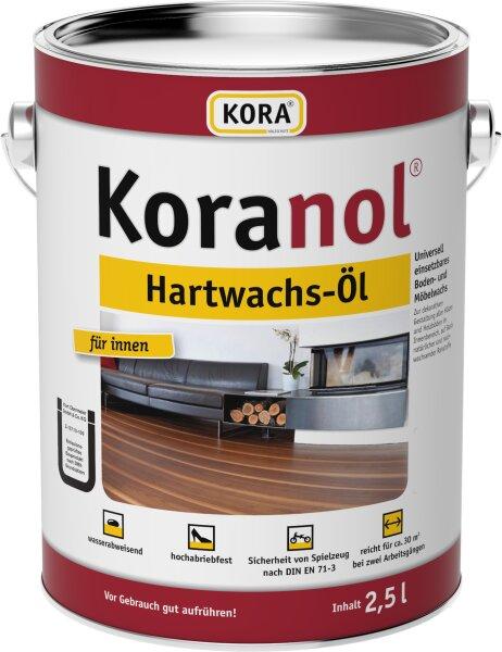 Kora Koranol Hartwachs-Öl 2,5l Farbton: Naturweiß