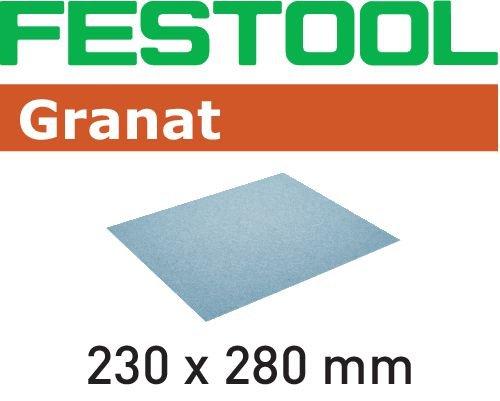 Festool Schleifpapier 230x280 P180 GR/10 Granat